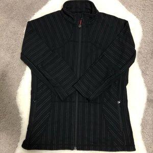 Lululemon Forme Jacket Striped Black White